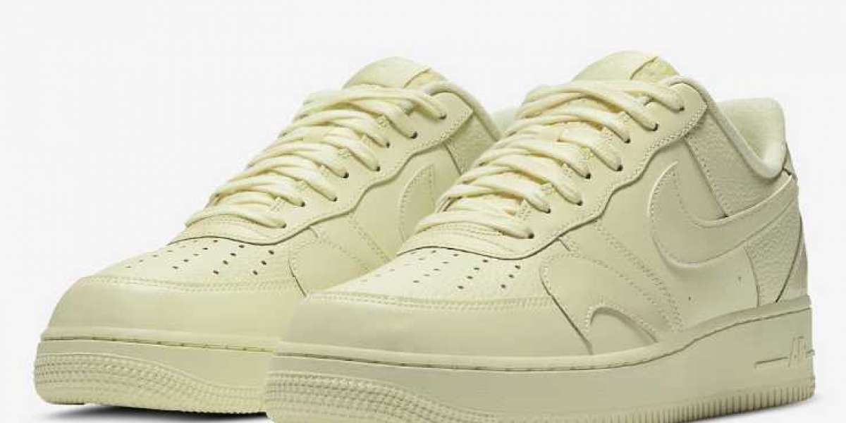 Nike Air Force 1 Low Pale Yellow is Must Cop Shoes