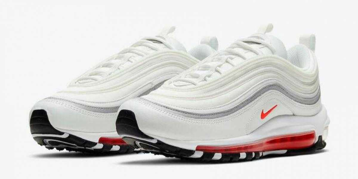 White Nike Air Max 97 Releasing With Red and Aqua Blue