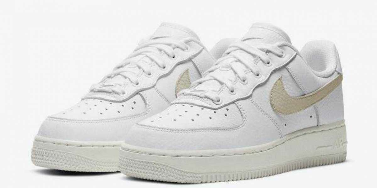 Latest Nike Air Force 1 Comes With A Stencil For Customization