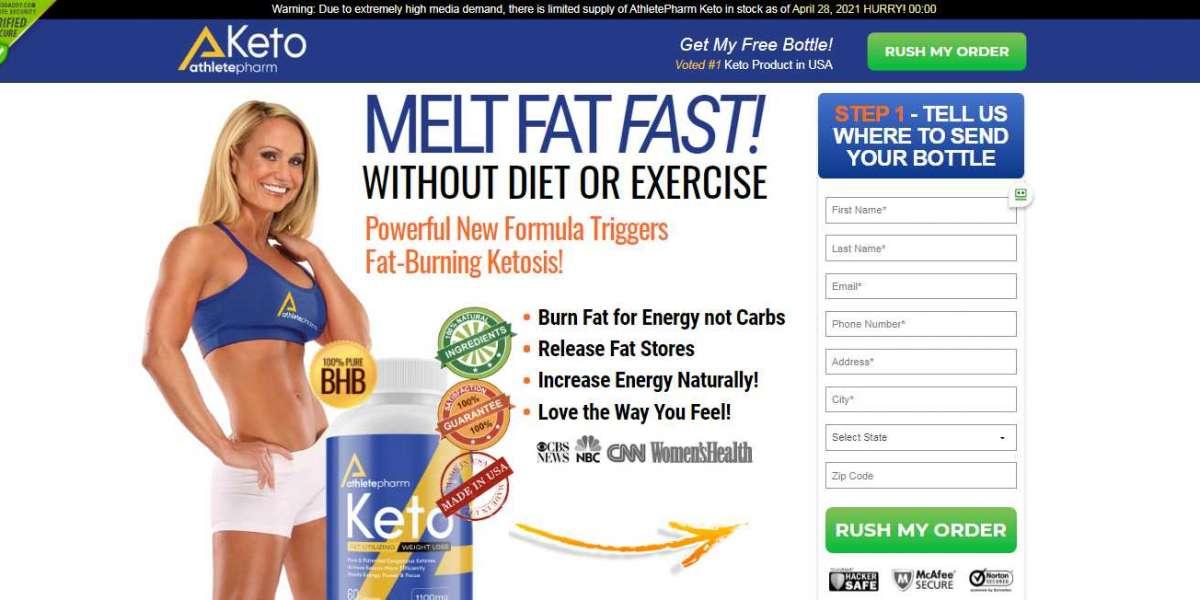 AthletePharm Keto Reviews – Diet Pills For Slim Shape Figure! Price, Buy